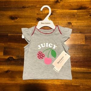 So Cute!! Juicy Couture baby shirt!
